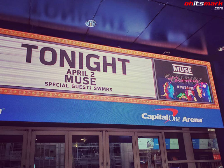 INSTAGRAM: Pre-Show – Muse in Washington D.C.!
