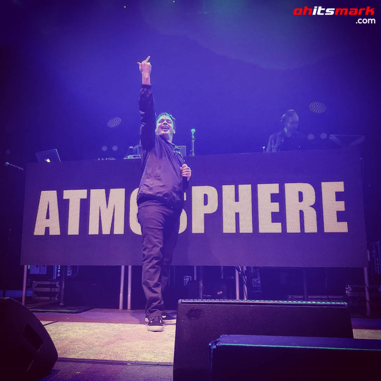 INSTAGRAM: Atmosphere – 9:30 Club – Washington D.C. – October 17th, 2018