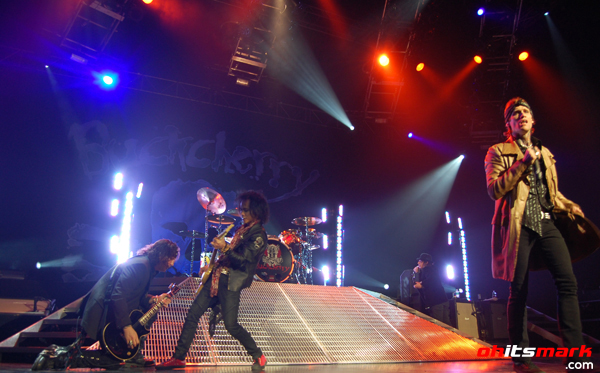 Buckcherry – Hard Rock Live – Orlando, FL – February 23rd, 2011