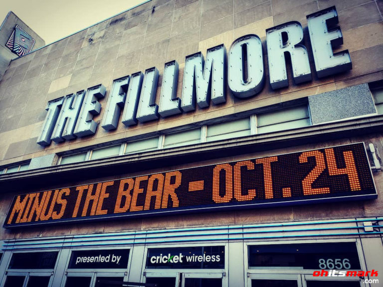 INSTAGRAM: Pre-show – Minus The Bear in Silver Spring!