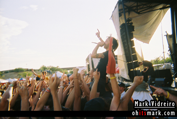 Rise Against – Vans Warped Tour – Cricket Wireless Pavilion – Phoenix, AZ – July 4th, 2006